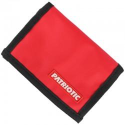 PATRIOTIC portfel FUTURA APP Rzep red