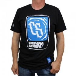 CS RPK koszulka BLOCK Ciemna Strefa black/blue