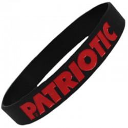 PATRIOTIC opaska FUTURA black / red