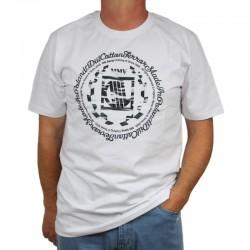 DIIL koszulka CAMO LAUR HEMP GRU biały