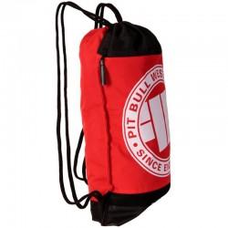 PIT BULL worek SPORTS SHOE BAG plecak red