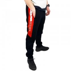 CS RPK spodnie PAS CIEMNA STREFA dres czarny/czerwony
