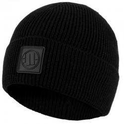 PIT BULL czapka NEW LOGO wywijana black