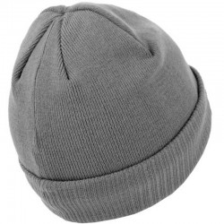 PIT BULL czapka SMALL LOGO wywijana grey