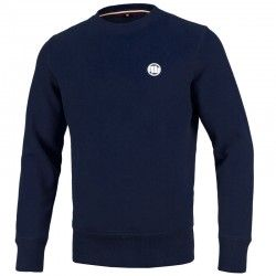 PIT BULL bluza SMALL LOGO navy klasyk