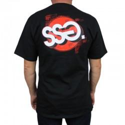 SSG koszulka GRAFFITI CIRCLE czarny