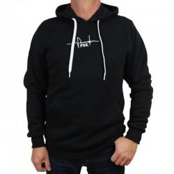P56 DUDEK bluza TĘTNO kaptur czarny
