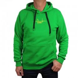 P56 DUDEK bluza TĘTNO kaptur zielony
