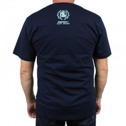 DIIL koszulka AUTH HEMP GRU navy