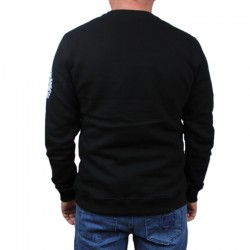 DIIL bluza STRIPS HEMP GRU black klasyk