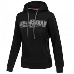 PIT BULL bluza FRENCH TERRY BOXING damska hoodie black