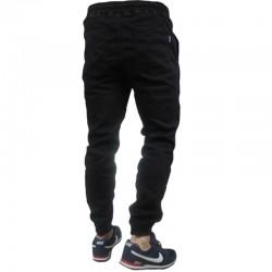 PATRIOTIC jogger FUTURA MINI jeans czarny