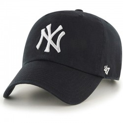 47 Brand czapka NY New York Yankees Clean black B-RGW17GWS-BKD
