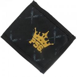 P56 DUDEK portfel CROWN GOLD MINI