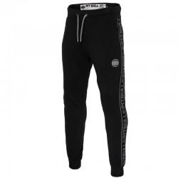 PIT BULL spodnie FRENCH TERRY SMALL LOGO dres black