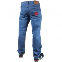 DIIL spodnie BACK LAUR jeans REGULAR light