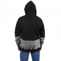 DIIL bluza CUT FRONT HEMP GRU black