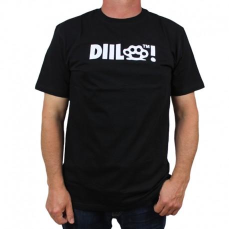 DIIL koszulka KASTET HEMP GRU czarny