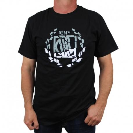DIIL koszulka LAUR DOUBLE HEMP GRU czarny
