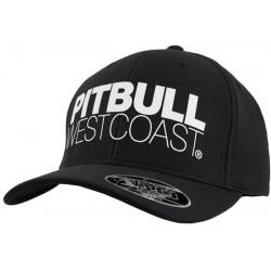 PIT BULL czapka SEASCAPE snapback snap black / white