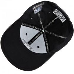 PIT BULL czapka LOGO snapback snap black / white