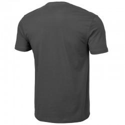 PIT BULL koszulka SMALL LOGO popiel