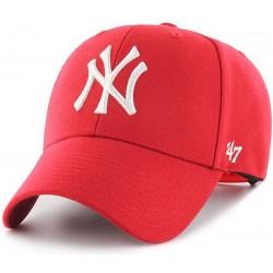 47 Brand czapka NY New York YANKES MVP red B-MVPSP17WBP-RD