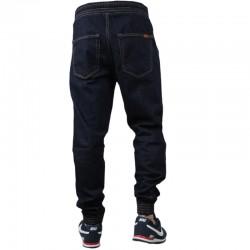 BOR jogger SKIN W21 Guma jeans dark