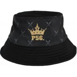 P56 DUDEK kapelusz CROWN GOLD bucket hat black