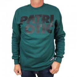 PATRIOTIC bluza CLS klasyk green