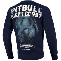 PIT BULL bluza BLACK DOG navy klasyk