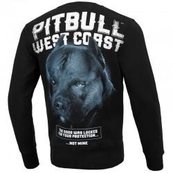 PIT BULL bluza BLACK DOG black klasyk