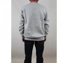 PROSTO bluza BASICK klasyk grey