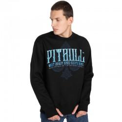 PIT BULL bluza BLUE SKULL klasyk black