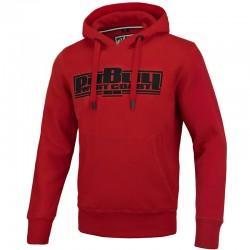 PIT BULL bluza CLASSIC BOXING kaptur red