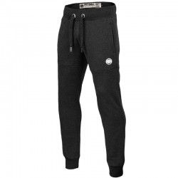 PIT BULL spodnie SMALL LOGO dres charcoal