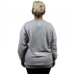 LUCKY DICE bluza CLASSIC GIRL damska grey
