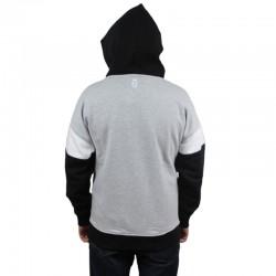 LUCKY DICE bluza URBAN Hoodie grey