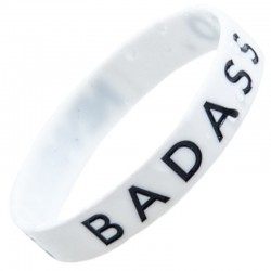 NEW BAD LINE opaska CLASSIC white- black