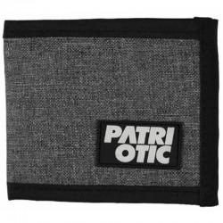 PATRIOTIC portfel CLS NEW GUMKA szary