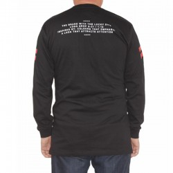LUCKY DICE longsleeve VHS LOGO long black