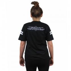 LUCKY DICE koszulka LOGO GIRL damska czarna