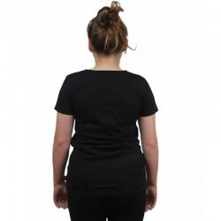 PROSTO koszulka LEAF damska black