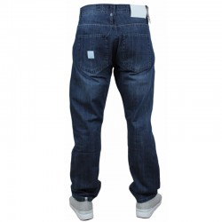 MASS spodnie BASE jeans regular dark blue