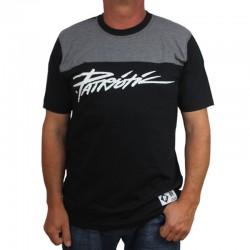 PATRIOTIC koszulka TAG SHOULDER czarny