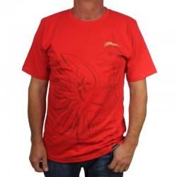 PATRIOTIC koszulka EAGLE SHADOW czerwony