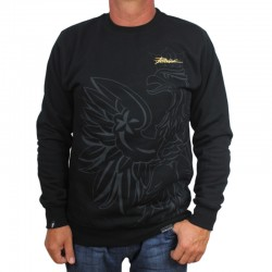 PATRIOTIC bluza EAGLE SHADOW czarny