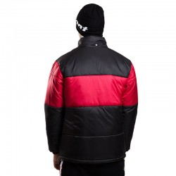 STOPROCENT kurtka PUFFER SLICE black/red