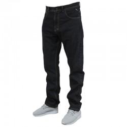 MASS spodnie BASE jeans regular rinse black