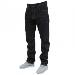 MASS spodnie BASE jeans regular rinse black